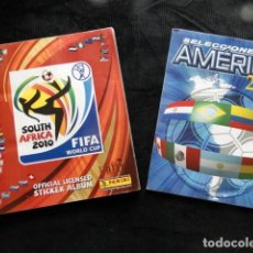 Álbum de fútbol completo: ÁLBUM PANINI - SOUTH AFRICA 2010 PANINI Y ROAD TO THE FIFA WORLD CUP - COMPLETOS!. Lote 195247497