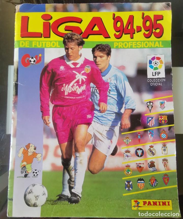 ÁLBUM CROMOS FÚTBOL LIGA PANINI 94 95 LFP 1ª DIVISIÓN NO LIGA ESTE NO DISGRA FHER (Coleccionismo Deportivo - Álbumes y Cromos de Deportes - Álbumes de Fútbol Completos)