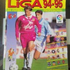 Álbum de fútbol completo: ÁLBUM CROMOS FÚTBOL LIGA PANINI 94 95 LFP 1ª DIVISIÓN NO LIGA ESTE NO DISGRA FHER. Lote 195247675