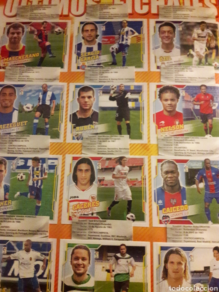 Álbum de fútbol completo: Liga Este 2010 2011 - Foto 2 - 195249493