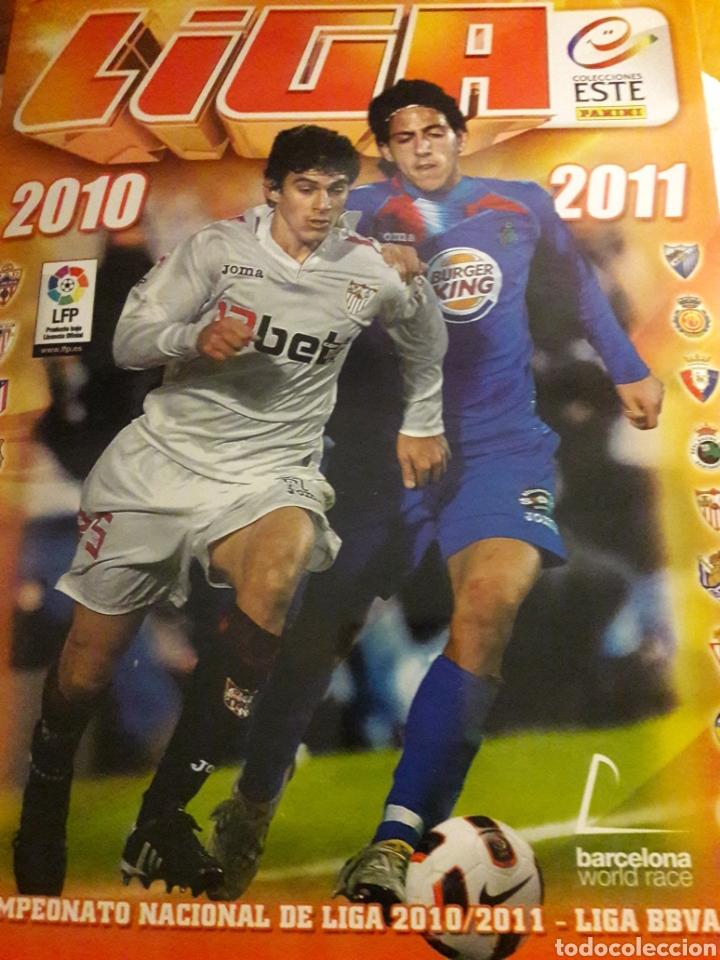 LIGA ESTE 2010 2011 (Coleccionismo Deportivo - Álbumes y Cromos de Deportes - Álbumes de Fútbol Completos)