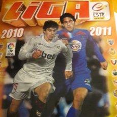 Álbum de fútbol completo: LIGA ESTE 2010 2011. Lote 195249493