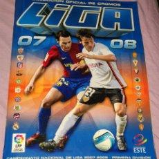 Álbum de fútbol completo: ÁLBUM DE LA LIGA 2007 - 2008 EDICIONES ESTE. COMPLETO, CONTIENE MUCHOS DOBLES PEGADOS. Lote 195284347