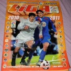 Álbum de fútbol completo: ÁLBUM DE LA LIGA 2010 - 2011 EDICIONES ESTE. COMPLETO, CONTIENE MUCHOS DOBLES PEGADOS. Lote 195284785
