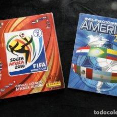 Álbum de fútbol completo: ALBUM PANINI / SOUTH AFRICA 2010 FIFA WORLD /SELECCIONES DE AMERICA 2001 PANINI. Lote 195332707