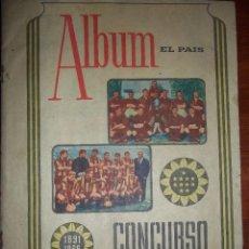 Álbum de fútbol completo: ANTIGUO ÁLBUM CLUB ATLÉTICO PEÑAROL DE URUGUAY EN SUS 75 ANIVERSARIO AÑO 1966. COMPLETO. Lote 195337187