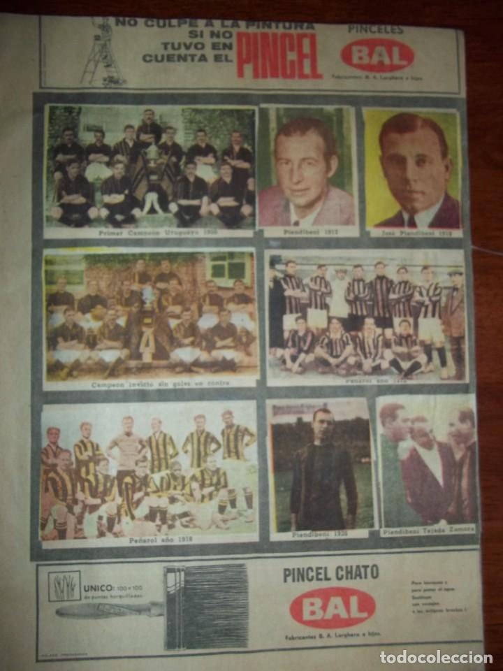 Álbum de fútbol completo: Antiguo álbum Club Atlético Peñarol de Uruguay en sus 75 aniversario año 1966. Completo - Foto 3 - 195337187