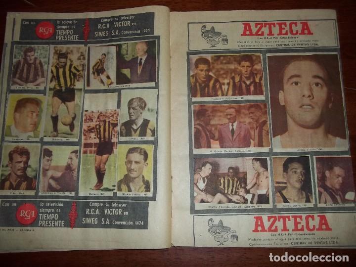 Álbum de fútbol completo: Antiguo álbum Club Atlético Peñarol de Uruguay en sus 75 aniversario año 1966. Completo - Foto 6 - 195337187