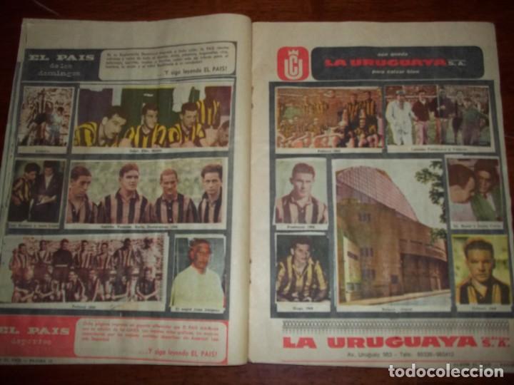 Álbum de fútbol completo: Antiguo álbum Club Atlético Peñarol de Uruguay en sus 75 aniversario año 1966. Completo - Foto 7 - 195337187
