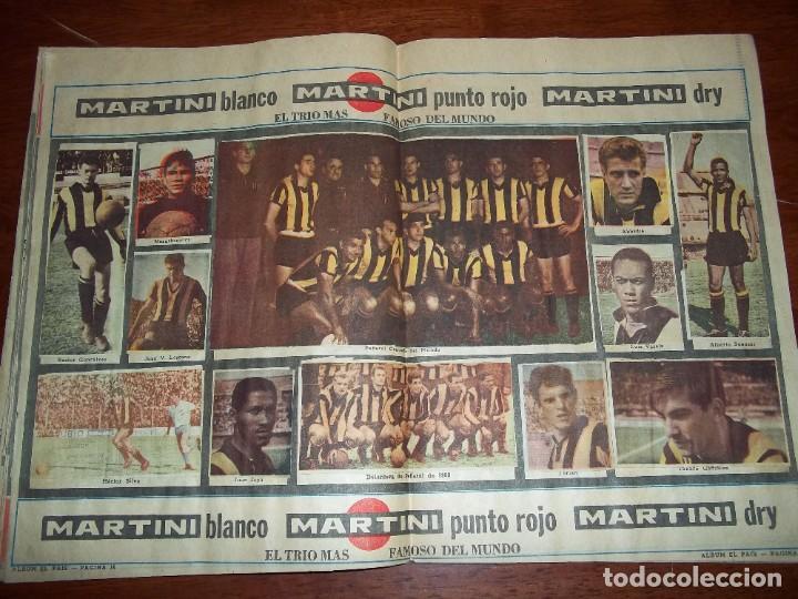 Álbum de fútbol completo: Antiguo álbum Club Atlético Peñarol de Uruguay en sus 75 aniversario año 1966. Completo - Foto 10 - 195337187
