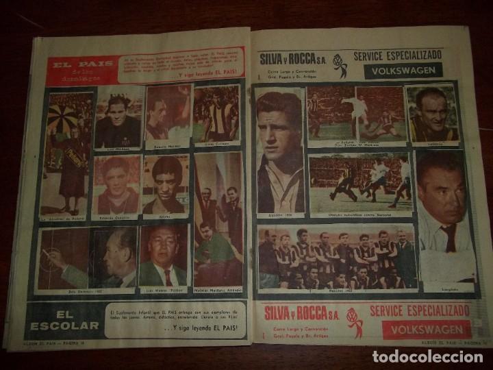 Álbum de fútbol completo: Antiguo álbum Club Atlético Peñarol de Uruguay en sus 75 aniversario año 1966. Completo - Foto 11 - 195337187
