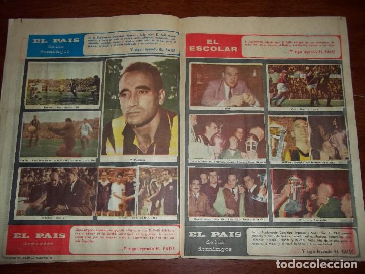 Álbum de fútbol completo: Antiguo álbum Club Atlético Peñarol de Uruguay en sus 75 aniversario año 1966. Completo - Foto 12 - 195337187