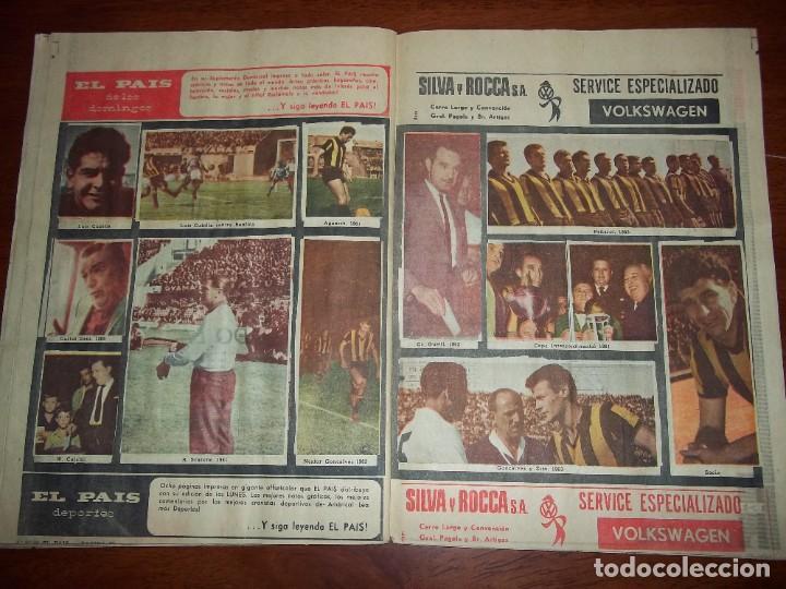 Álbum de fútbol completo: Antiguo álbum Club Atlético Peñarol de Uruguay en sus 75 aniversario año 1966. Completo - Foto 13 - 195337187