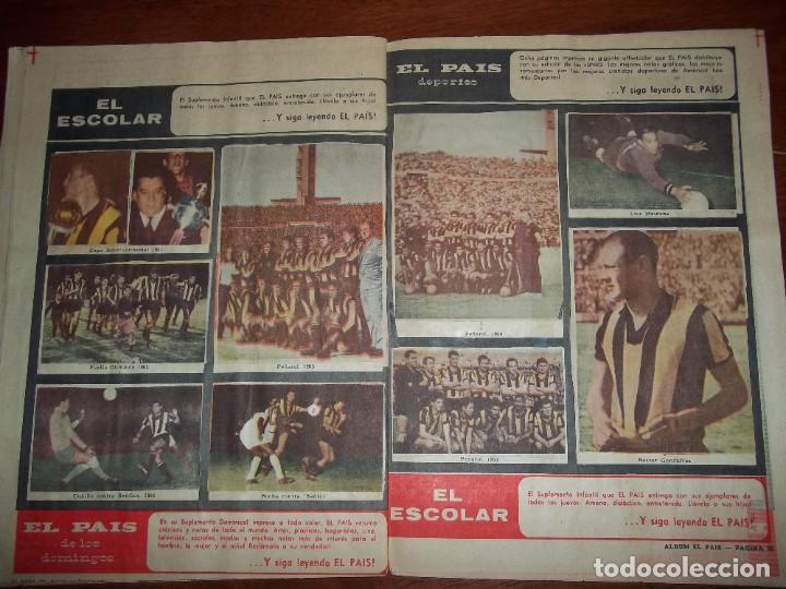 Álbum de fútbol completo: Antiguo álbum Club Atlético Peñarol de Uruguay en sus 75 aniversario año 1966. Completo - Foto 14 - 195337187