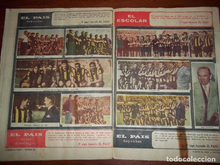 Álbum de fútbol completo: Antiguo álbum Club Atlético Peñarol de Uruguay en sus 75 aniversario año 1966. Completo - Foto 15 - 195337187