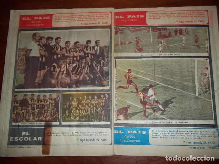 Álbum de fútbol completo: Antiguo álbum Club Atlético Peñarol de Uruguay en sus 75 aniversario año 1966. Completo - Foto 16 - 195337187
