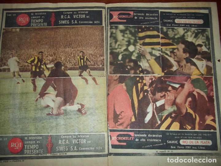 Álbum de fútbol completo: Antiguo álbum Club Atlético Peñarol de Uruguay en sus 75 aniversario año 1966. Completo - Foto 17 - 195337187