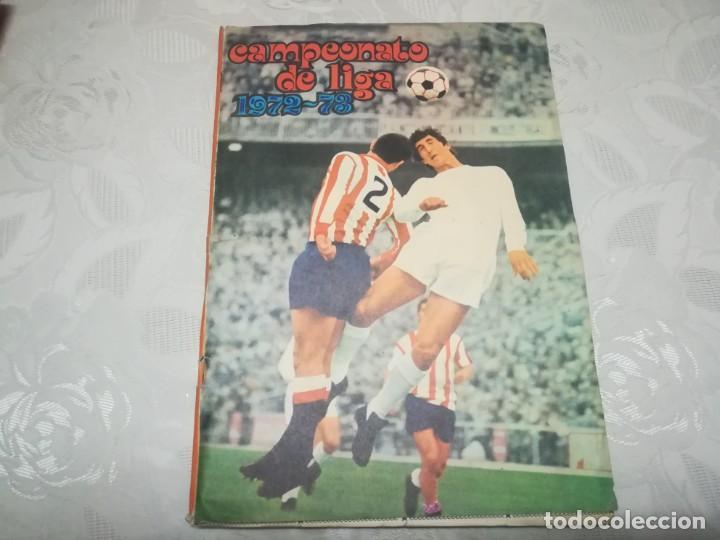 ALBUM DE CROMOS DISGRA CAMPEONATO DE LIGA 72/73 MIREN FOTOS (Coleccionismo Deportivo - Álbumes y Cromos de Deportes - Álbumes de Fútbol Completos)