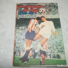 Álbum de fútbol completo: ALBUM DE CROMOS DISGRA CAMPEONATO DE LIGA 72/73 MIREN FOTOS . Lote 195343318