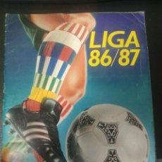 Álbum de fútbol completo: ÁLBUM ESTE 86/87 COMPLETO CON MUCHOS COLOCAS DIFÍCILES FRADERA MEDINA PIZO FLORES ETC. Lote 195437192