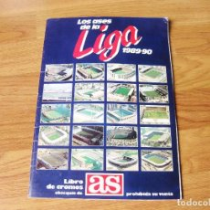 Album de football complet: ALBUM COMPLETO DE CROMOS DE LOS ASES DE LA LIGA 89 90. 1989 1990. LIBRO DE CROMOS OBSEQUIO DE AS. Lote 195847432