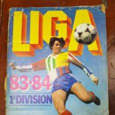 Álbum de fútbol completo: ALBUM LIGA 83-84 ESTE COMPLETO 317 CROMOS 1983 1984. Lote 208569568