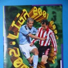 Caderneta de futebol completa: ALBUM CROMOS - LIGA 2001-2002 01-02 - ED. ESTE - ALBUM PLANCHA VACIO. Lote 196510525