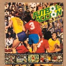 Album de football complet: FÚTBOL EN ACCIÓN, DANONE 82. ÁLBUM DE CROMOS COMPLETO. MUNDIAL FÚTBOL ESPAÑA '82.. Lote 196543943