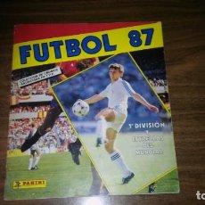 Caderneta de futebol completa: FUTBOL 87 DE PANINI - COMPLETO (377 CROMOS). Lote 196767326