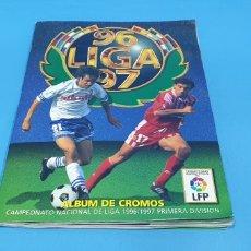 Álbum de fútbol completo: ALBUM DE CROMOS, LIGA 96/97, L.F.P. COLECCIONES ESTE. Lote 196958852