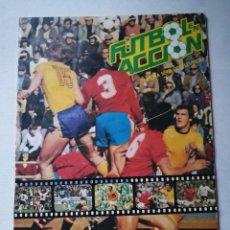Álbum de fútbol completo: FÚTBOL ACCIÓN. ÁLBUM MUNDIAL DE ESPAÑA 82. DANONE.. Lote 197075438