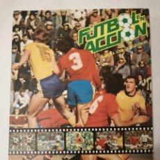 Álbum de fútbol completo: FÚTBOL ACCIÓN. ÁLBUM MUNDIAL DE ESPAÑA 82. DANONE.. Lote 197142173