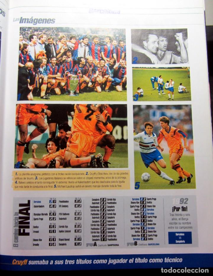 Álbum de fútbol completo: LIBRO / ALBUM EL LIBRO DE LOS CAMPEONES DE EUROPA COMPLETO EDITADO POR EL DIARIO MARCA EN 1.999 - Foto 2 - 197241862
