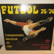 Album de football complet: ALBUM FUTBOL 1975 VULCANO EXCELENTE ESTADO Y COMPLETO,BARATO. Lote 197310451