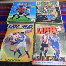 Álbum de fútbol completo: LIGA ESTE 08 09 2008 2009, 94 95 1994 1995 COMPLETO MUNDICROMO 2000 INCOMPLETO. REGALO ESTE 91 92.. Lote 197328455