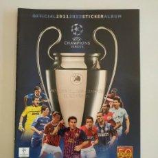 Caderneta de futebol completa: ÁLBUM UEFA CHAMPIONS LEAGUE 11-12 2011-2012 VACÍO NUEVO PLANCHA + 31 CROMOS NUEVOS SIN PEGAR. Lote 197805396