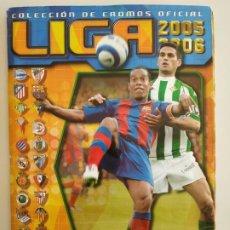 Caderneta de futebol completa: ÁLBUM LIGA EDICIONES ESTE 05-06 2005-2006 COMPLETO CON 547 CROMOS. Lote 197806917