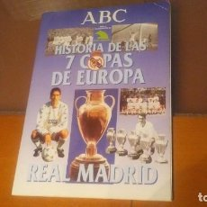 Álbum de fútbol completo: ÁLBUM COMPLETO HISTORIAS DE LAS 7 COPAS DE EUROPA. Lote 198128951