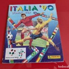 Album de football complet: ALBUM CROMOS COMPLETO FUTBOL MUNDIAL ITALIA 90 PANINI. Lote 198249987