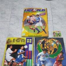 Album de football complet: LOTE ÁLBUMES COMPLETOS 94-95 / 95-96 / 96-97 ESTE (CON DOBLES,TRIPLES Y CUADRUPLES). Lote 198661063