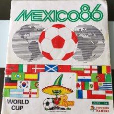 Album de football complet: ÁLBUM CROMOS MUNDIAL FÚTBOL ED. PANINI MEXICO 86. Lote 198763118
