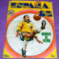 Album de football complet: ÁLBUM COMPLETO ESPAÑA 82. MUNDIAL DE FÚTBOL. FHER.. Lote 198769985