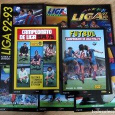 Álbum de fútbol completo: COLECCION COMPLETA DE CROMOS INOLVIDABLES FUTBOL ESPAÑOL REEDITADA PANINI SALVAT EDICIONES ESTE 1972. Lote 200044111