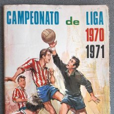 Álbum de fútbol completo: ALBUM 1970 1971 FHER DISGRA. CAMPEONATO DE LIGA 70 71 COMPLETO. Lote 198638860