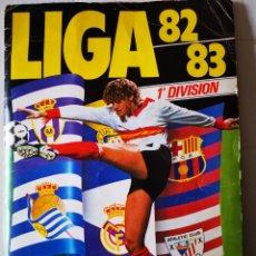 Álbum de fútbol completo: ALBUM COMPLETO 1982/83 CLOS, OSWALDO, PRECIADO, AT MADRID PANTALÓN NEGRO ETC ETC 82/83. Lote 200833786