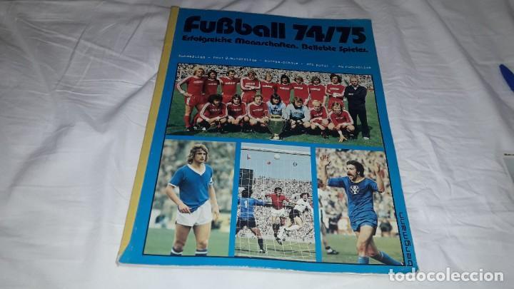 ALBUM CASI VACIO Y NUEVISIMO LIGA 74-75 DE LA BUSDENLIGA (Coleccionismo Deportivo - Álbumes y Cromos de Deportes - Álbumes de Fútbol Completos)