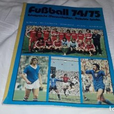Álbum de fútbol completo: ALBUM CASI VACIO Y NUEVISIMO LIGA 74-75 DE LA BUSDENLIGA. Lote 202588236