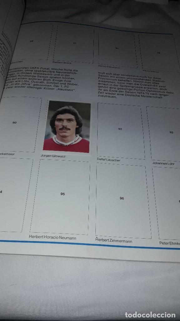 Álbum de fútbol completo: ALBUM CASI VACIO Y NUEVISIMO LIGA 74-75 DE LA BUSDENLIGA - Foto 4 - 202588236