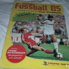 Álbum de fútbol completo: ALBUM FUTBOL 85 DE PANINI BUSDENLIGA COMPLETO. Lote 202589030