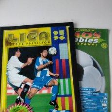 Caderneta de futebol completa: ALBUM COMPLETO FACSÍMIL LIGA ESTE 95/96. Lote 202870318